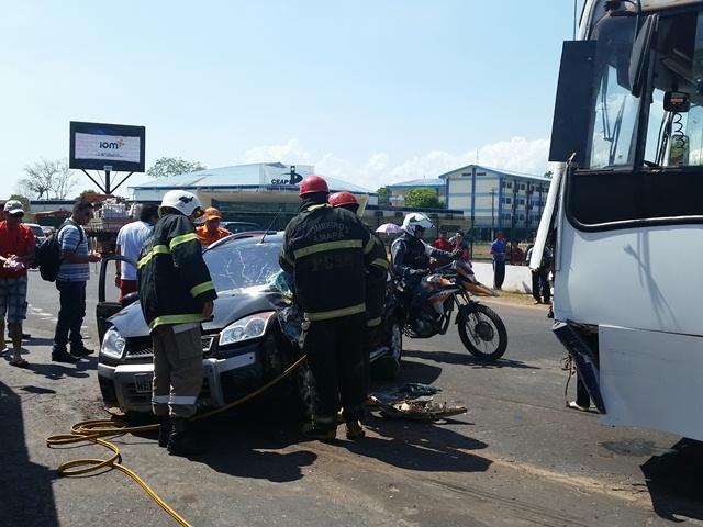 """Possível """"sinal verde duplo"""" pode ter causado acidente na Duca Serra"""