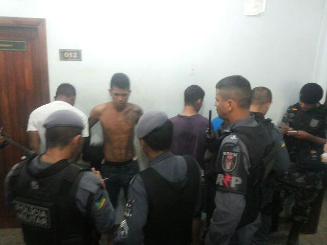 Assaltantes de farmácia presos na Zona Norte
