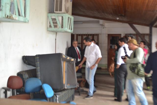 Vistoria: Com delegacias sucateadas, Waldez anuncia Ciosp em Santana