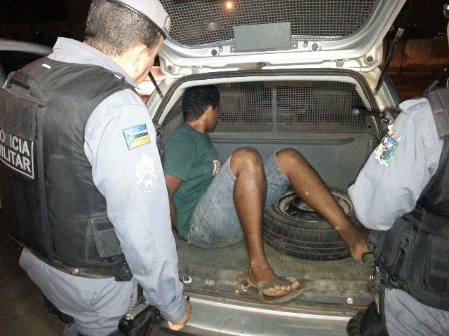 Depois de assalto: PM evita linchamento de acusado