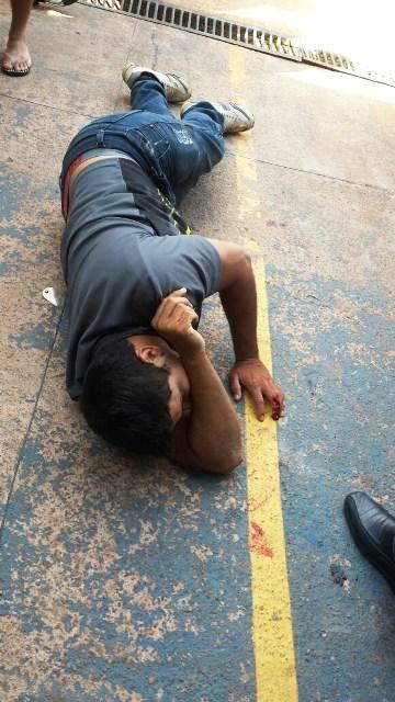 de folga: Policial troca tiros com assaltantes e deixa um ferido