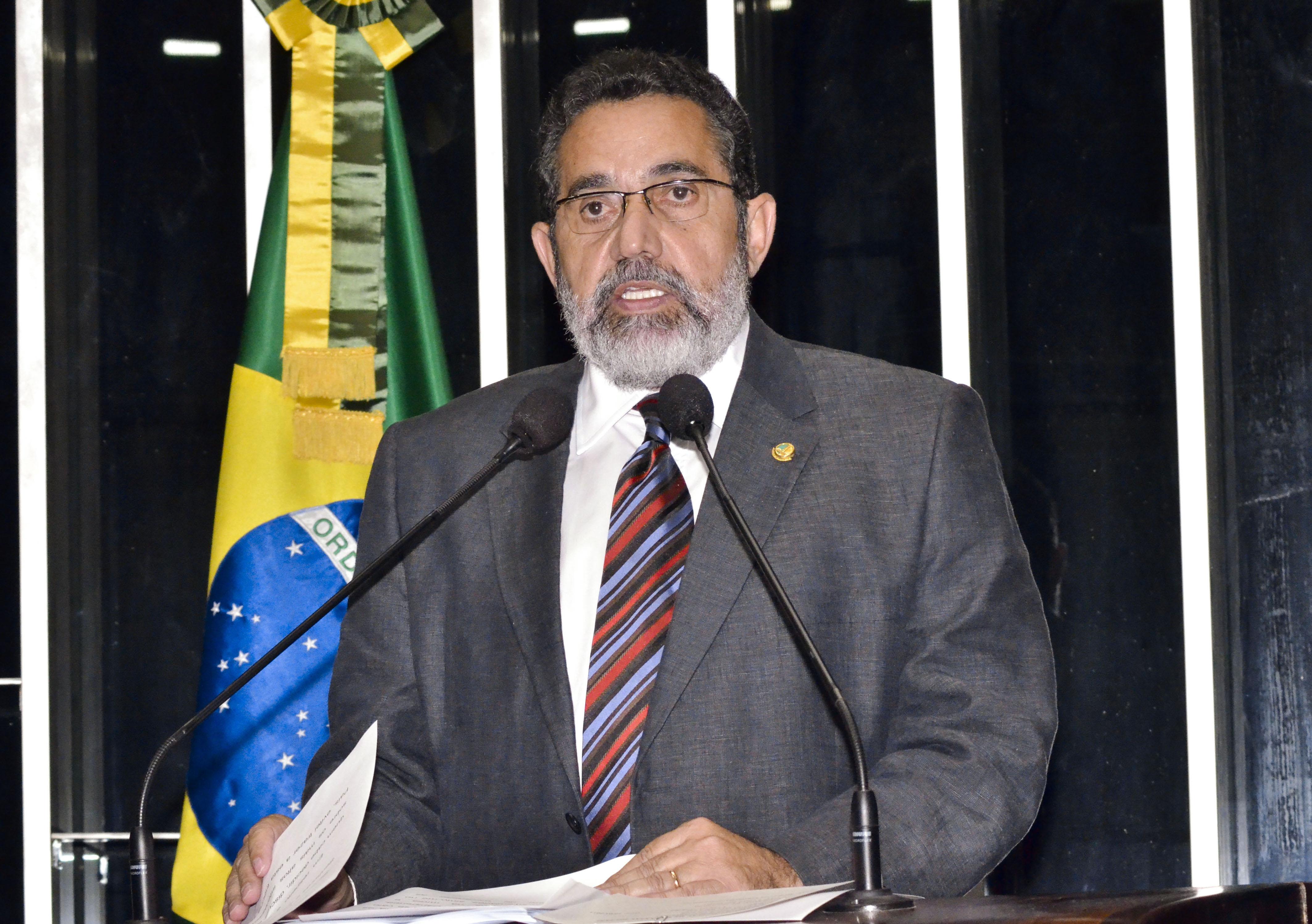 """Estratégia: """"Terei 3 gabinetes em Brasília"""", diz Gilvam ao lançar o """"Senado Paralelo"""""""