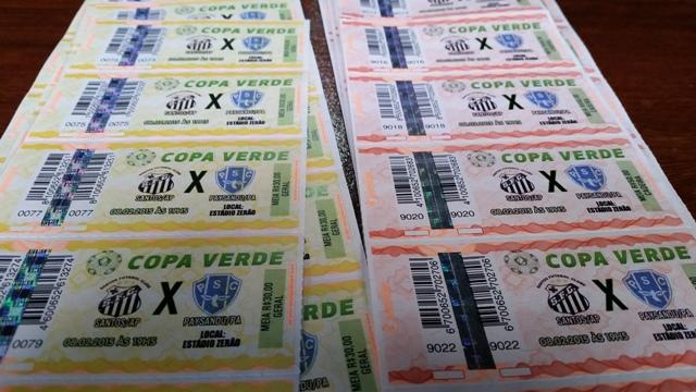 Santos x Paysandú: Na compra antecipada, ingressos saem pela metade do preço