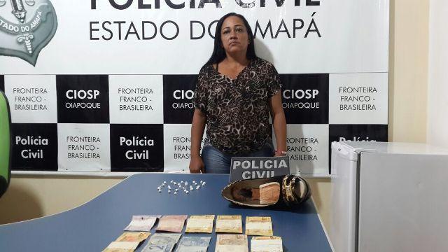 Fronteira: Mulher transportava crack entre os seios