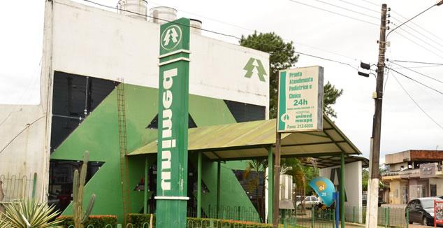 Área interditada da Unimed está sendo usada para esterilização, diz MP