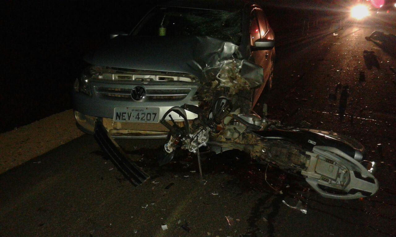 rodovia da morte: Motoqueiro morre em colisão na AP-70