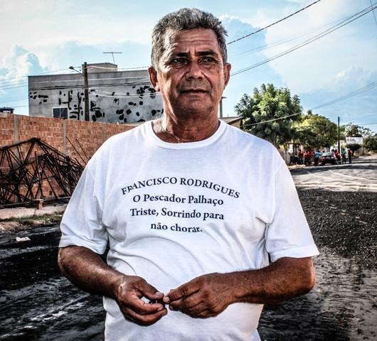 """depois de 65 anos: Infarto cala o sorriso do """"Pescador Palhaço"""""""