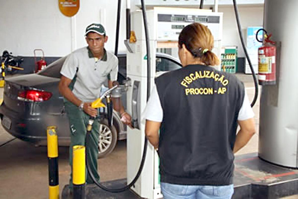 Gasolina: Após denúncias, Procon inicia nova fiscalização nos postos