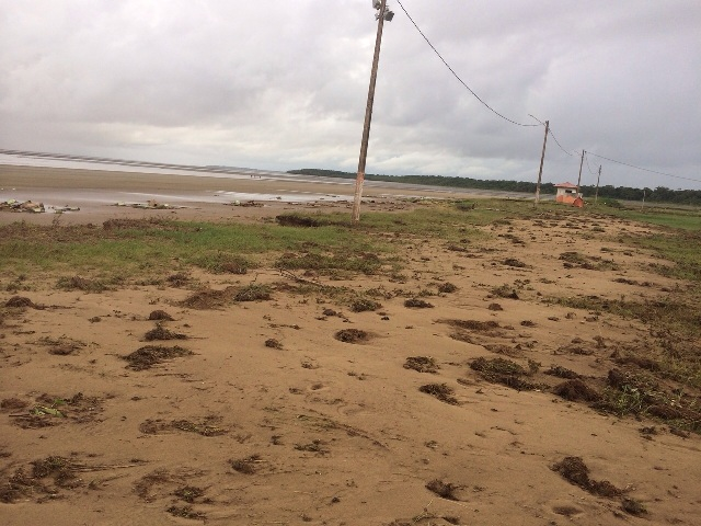 Praia do Goiabal, em Calçoene. Foto: Arquivo