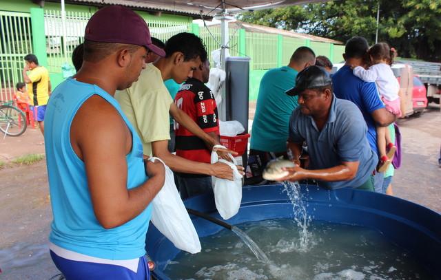 Projeto Peixe Vivo: Tambaqui a preço popular neste sábado
