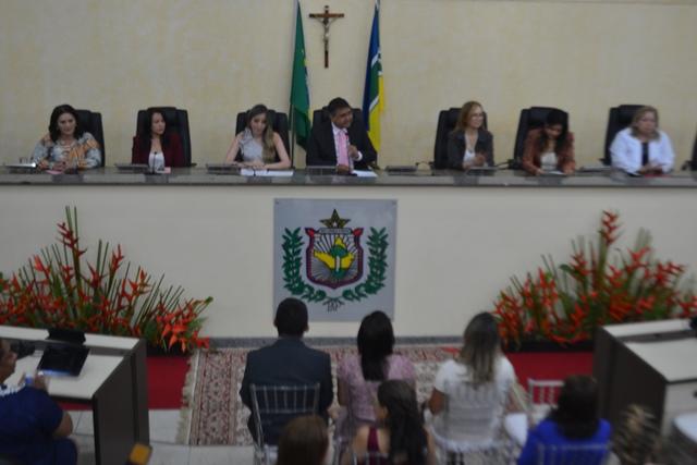 Comenda: Mulheres recebem homenagem na Assembleia Legislativa