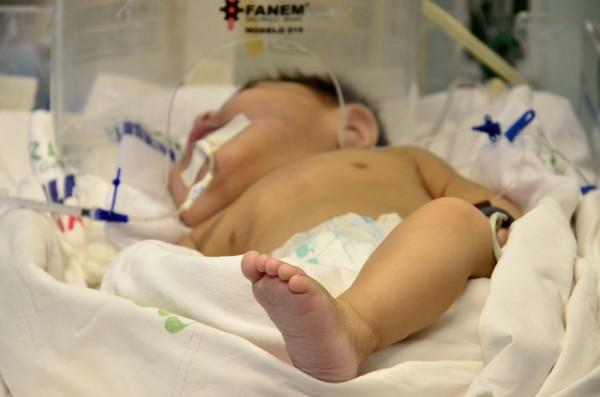 um ano: Bebê abandonado pela família em hospital ganha festa de aniversário
