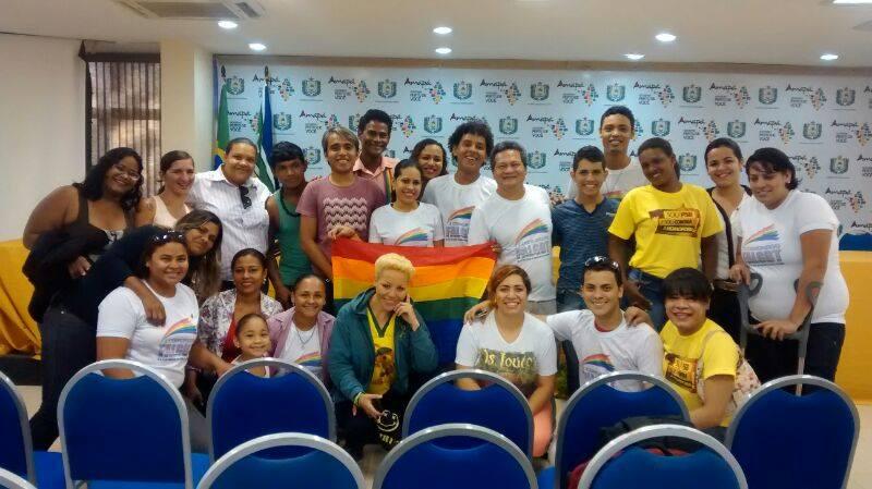 encontro regional: Comunidade LGBT discute politização da juventude