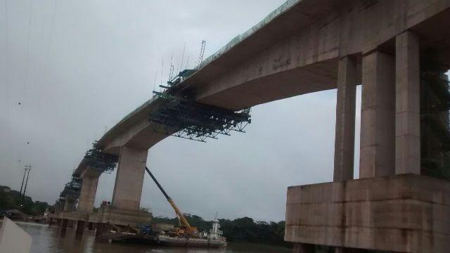 Ponte do Matapi: Sem pagamento, empreiteira demite e começa a desmobilizar a obra