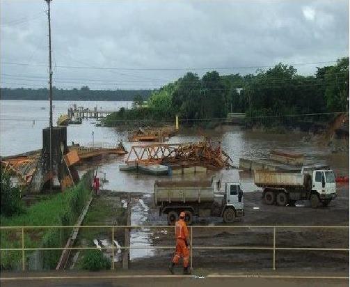 Novo desmoronamento: Zamin é multada em R$ 6 milhões por crime ambiental