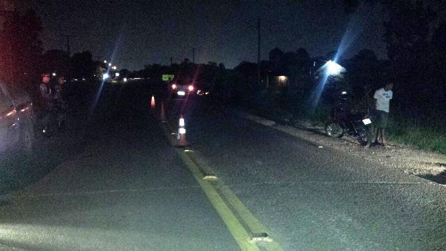 Jovem morre em acidente de moto na Rodovia do Curiaú