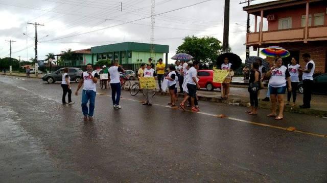 Pouca gente nas ruas: Fracassa protesto de moradores em Santana