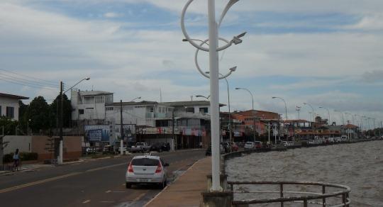 Orla de Macapá: Dono de restaurante é amarrado por assaltantes