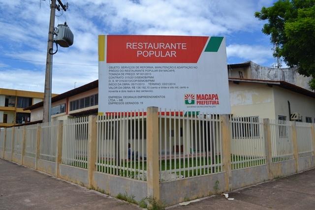 Enfim: Prefeitura garante inauguração do Restaurante Popular para junho