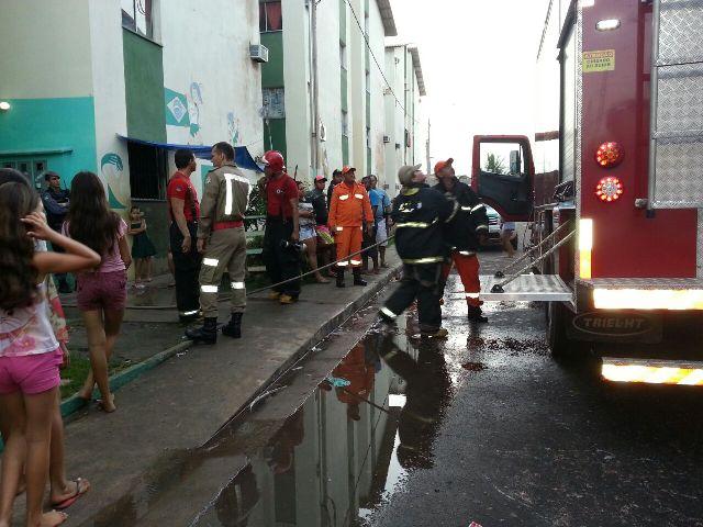 vingança: Briga termina com 2 apartamentos incendiados no Mucajá