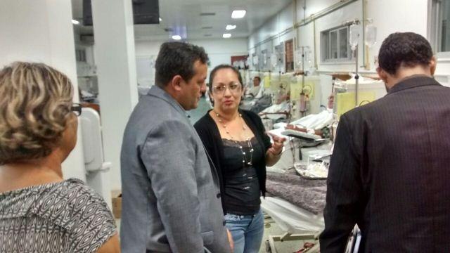 Comissão inspeciona nefrologia e pede retomada de negociações para transplantes