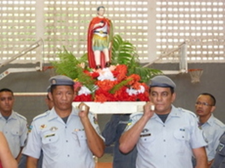 Padroeiro da PM: Viaturas serão abençoadas em missa a Santo Expedito