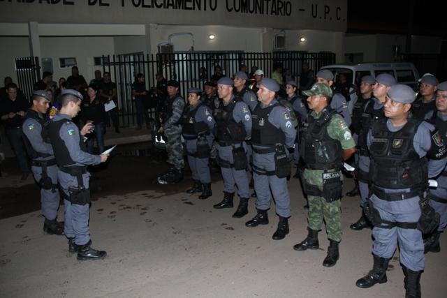 """Operação da PM: """"Cerco Total"""" na Zona Norte de Macapá"""