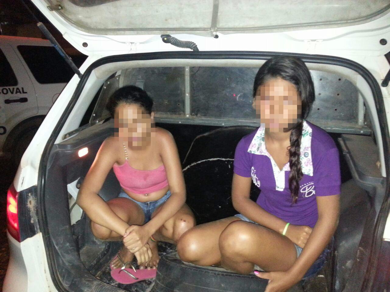 14 anos: As meninas que assaltam