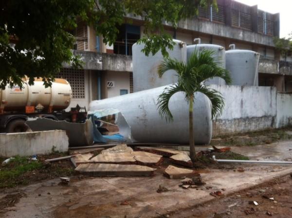 Abastecimento não será afetado: Acidente causa perda de 48 mil litros de produto químico da Caesa