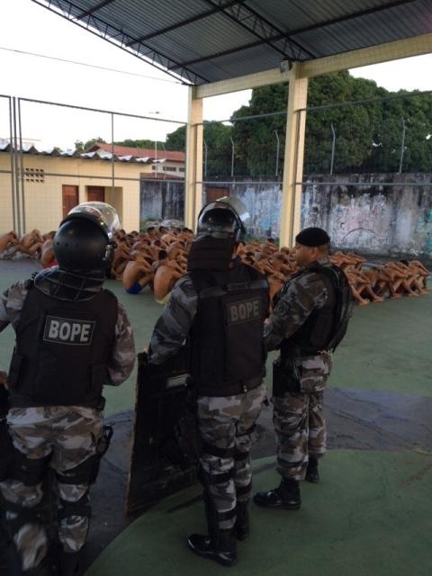 Revista: Bope entra no Cesein para impedir execução de menor
