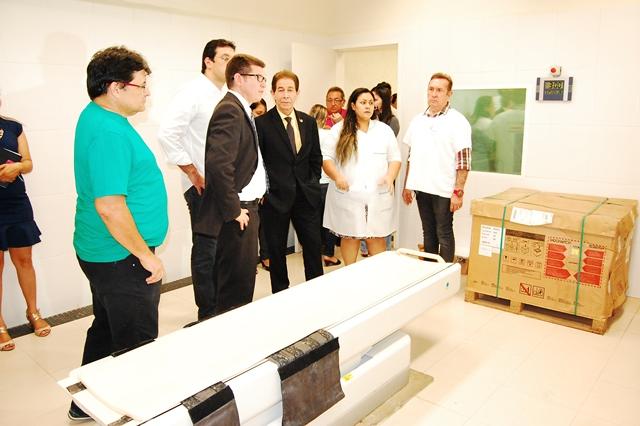 Visita técnica: Deputados estaduais vão sugerir auditoria no HE