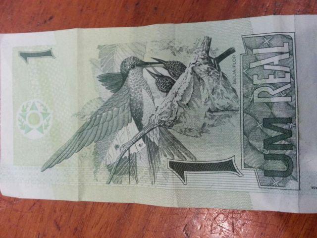 Noite de crimes: Sem valor, nota de R$ 1 confirma identidade de assaltante