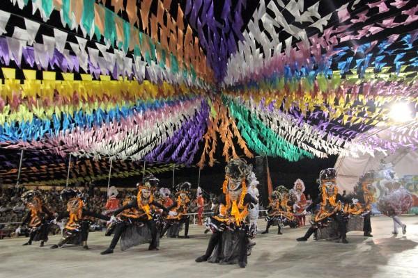 Estrutura pronta: Festival de quadrilhas vai para o Sambódromo