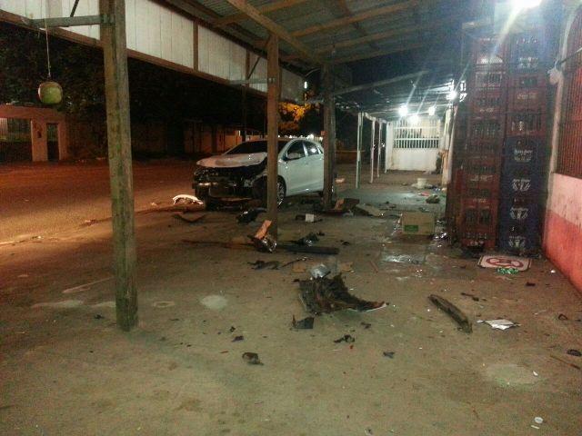 Beirol: Médico em carro de luxo causa acidente e é preso