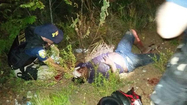 Sobrou na curva: Embriagado, sem habilitação e com R$ 5 mil em multas