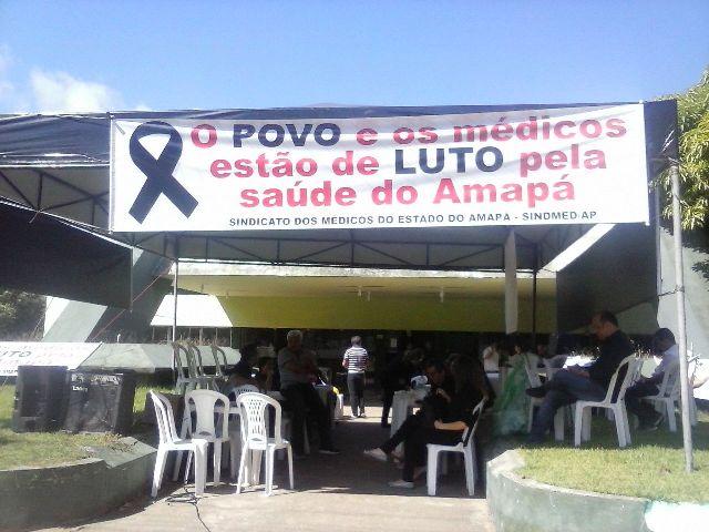 protesto: Médicos param por 24 horas