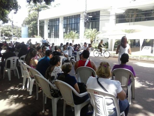 Manifestação: Servidores da Saúde entram em greve. Sesa diz que acordos estão sendo cumpridos