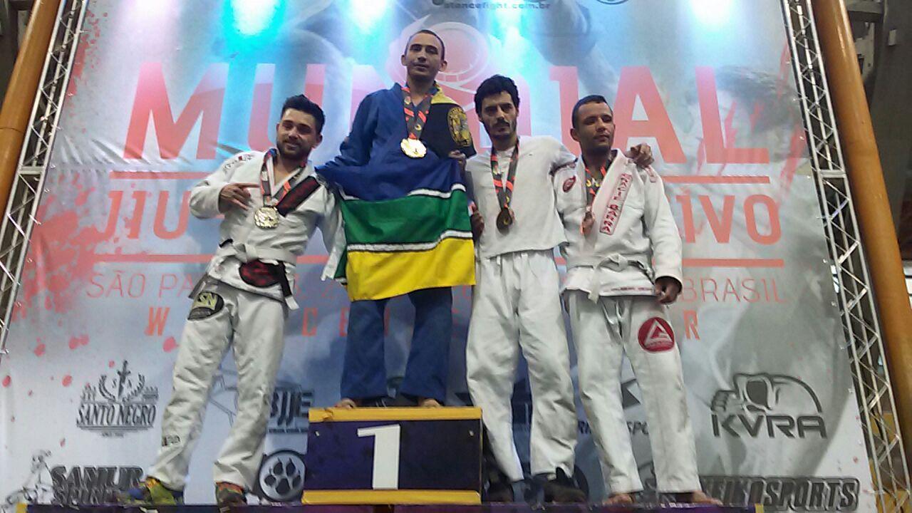 Em SP: Sargento amapaense é campeão mundial de jiu-jitsu