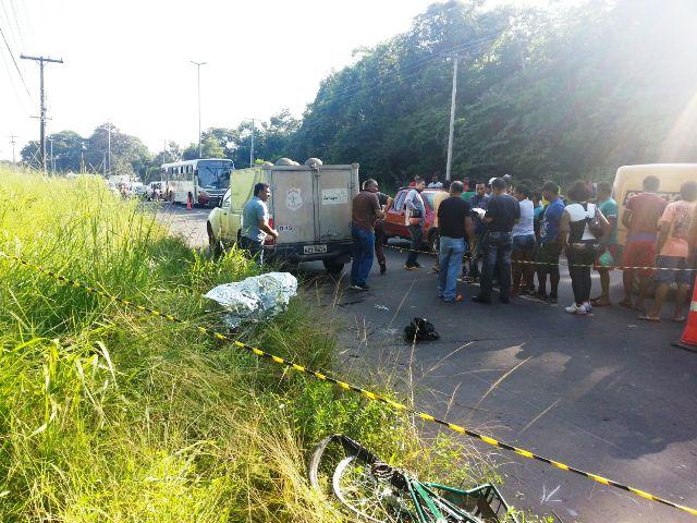 Rodovia JK: Carpinteiro morre atropelado e deixa 7 filhos