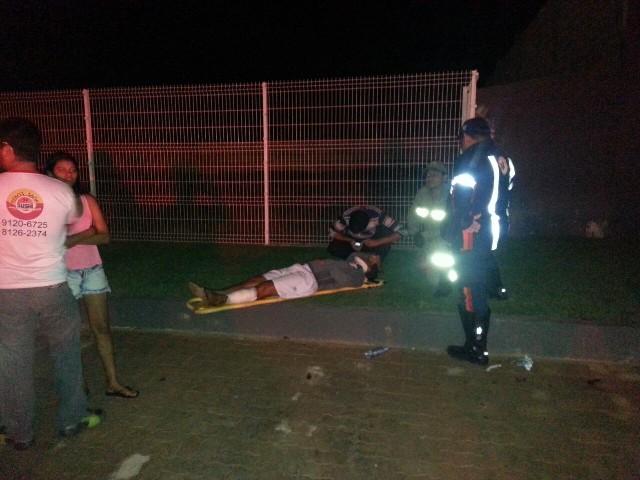alta velocidade: Acidente grave na Rodovia JK deixa três feridos