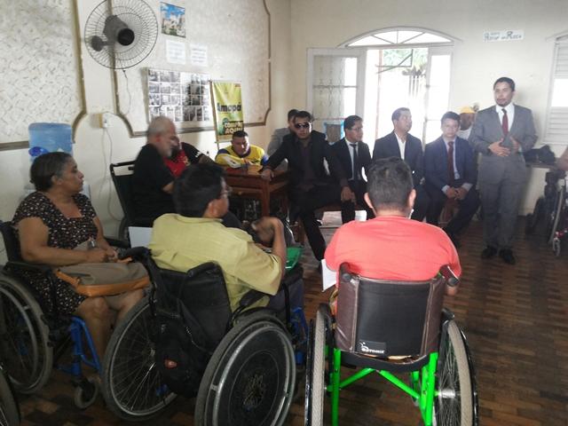 Denúncia chega à OAB: Deficientes reclamam de abandono