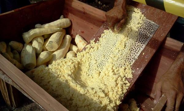 Quilombo do Curiaú: Professor ensina matemática usando a farinha como instrumento