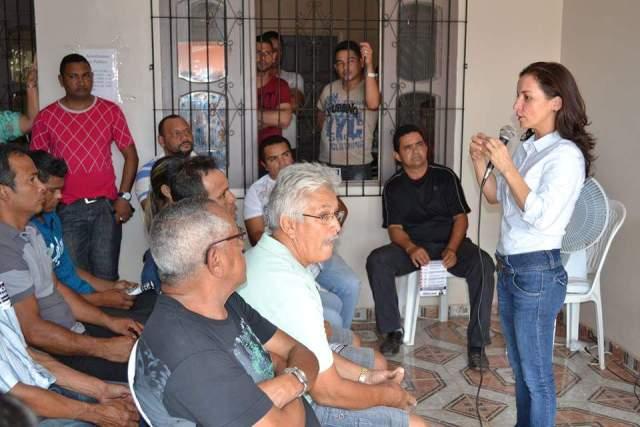 Em reunião com lideranças: Marcivânia confirma pré-candidatura de Odair Freitas à prefeitura de Santana