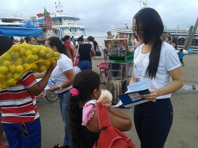 Coração Azul: Começa no AP campanha contra o tráfico de pessoas