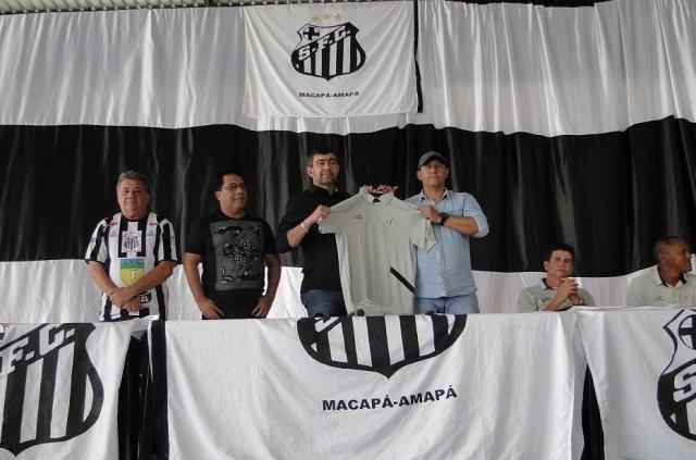 Reforço: Santos-AP apresenta Boiadeiro como novo diretor de futebol em 2015