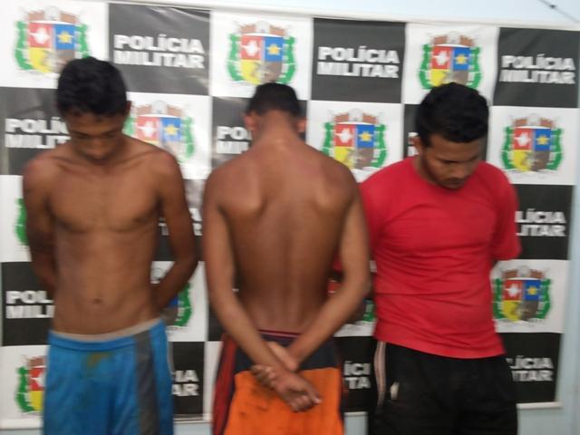 velhos conhecidos: Ladrões se escondem em caixa d`água, mas são presos pela PM