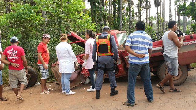 Tragédia: Identificado o motorista morto em acidente na BR-210