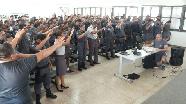 Humanização: Comandante de batalhão usa as redes sociais para evangelizar