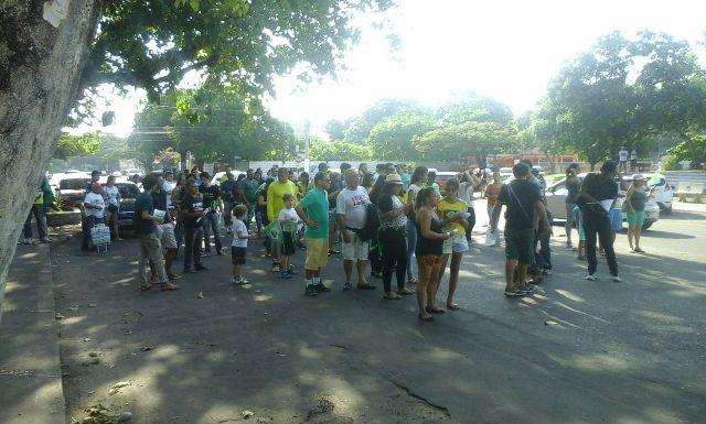 Pouca adesão: Fora Dilma no AP é tímido