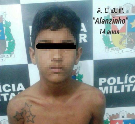 Marabaixo: Menor resiste e xinga policiais